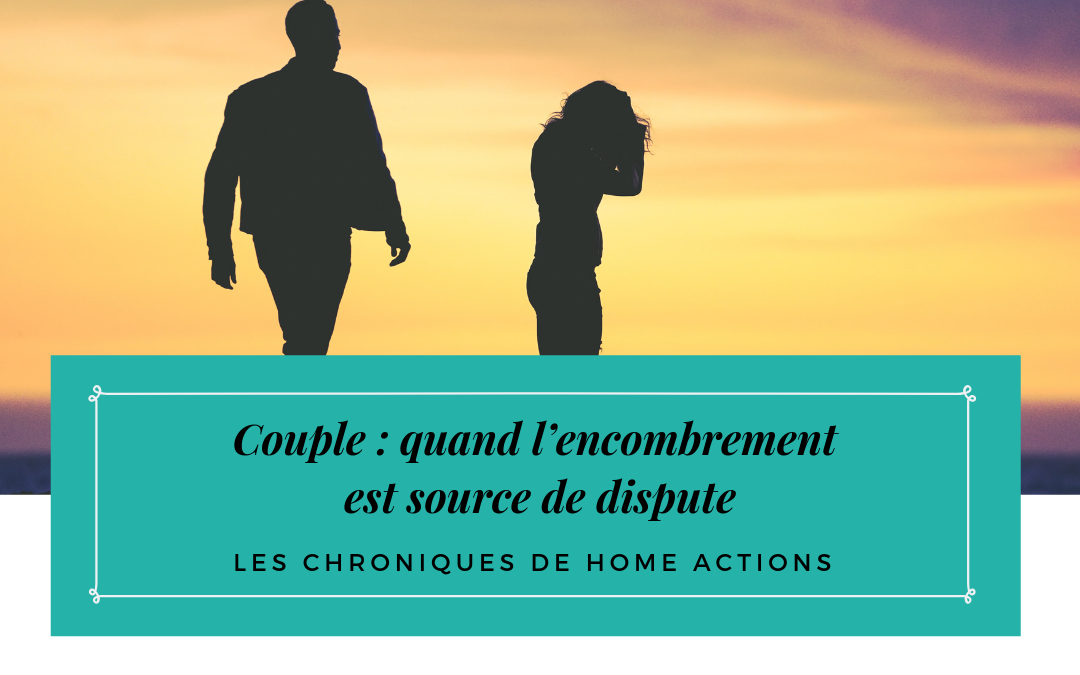 Couple : quand l'encombrement est source de dispute